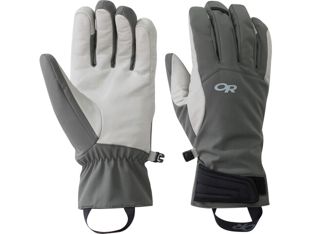 Outdoor Research Direct Contact Guantes, charcoal/alloy